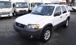 Make Ford Model Escape Year 2007 Colour White kms 196199 Trans Automatic Stock #: BC0030712 VIN: 1FMYU93107KB99917 2007 Ford Escape XLT 4WD, 3.0L, 6 cylinder, 4 door, automatic, 4WD, 4-Wheel AB, cruise control, air conditioning, AM/FM radio, cassette