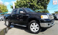 Make Ford Model F-150 Year 2007 Colour Black kms 191560 Trans Automatic Price: $13,500 Stock Number: C3785 VIN: 1ftpw14v17fb10054 Interior Colour: Black Engine: 5.4L V8 SOHC 24V FFV 2007 Ford F-150 Automatic 4x4 191k Fully loaded leather interior Power