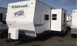 Price: $14,750 Stock Number: P2616 2007 Forest River Wildwood T24RBSLE