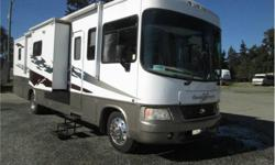Price: $49,900 Cylinders: 10 Fuel: Gasoline roomy three slide out motorhome , levelling system , two tv s , back up cam , only 31000 miles .