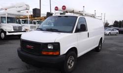 Make GMC Year 2007 Colour White Trans Automatic kms 178748 Stock #: BC0030744 VIN: 1GTHG35U671161758 2007 GMC Savana G3500 Cargo Van with Ladder Rack and Rear Shelving, 6.0L, 8 cylinder, 2 door, automatic, RWD, 4-Wheel AB, air conditioning, AM/FM radio,