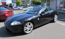 Make Jaguar Model XK Year 2007 Colour BLACK kms 63566 Trans Automatic CALL WADE @ 250 514 9255 FOR MORE INFO OR APPOINTMENT 4.2 Litre 8 cylinder engine 6 Speed Automatic Transmission Rear-wheel drive 300 HP @ 6000 rpm 310 ft-lbs @ 4100 rpm 4 wheel disc
