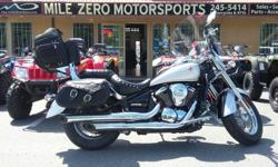 Great shape 27k kms. Bags, Windshield, Backrest, rear rack Trades Welcome Financing available at http://www.themilezero.com/pages/financing Mile Zero Motorsports 3-13136 Thomas Rd Ladysmith B.C. Everything Starts Here!!!