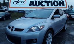 Make Mazda Model CX-7 Year 2007 Colour grey kms 280439 Trans Automatic Auction Sale Every Saturday *****Please check our current inventory at www.JettAuction.com ***** Automatic with Triptronic transmission and 2.3 Litre Engine,4 cylinder ,Front Wheel