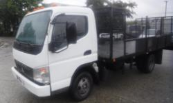 Year 2007 Colour White Trans Automatic kms 146264 Stock #: BC0030353 VIN: JL6BBE1S27K014374 2007 Mitsubishi Fuso Fe 140 Fe84d 14 Foot Flat Deck Diesel 3 Passenger, 4.9L, 8 cylinder, 2 door, automatic, 4X2, air conditioning, AM/FM radio, CD player, 4 foot