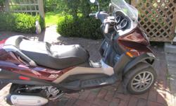 In excellent condition. Bought brand new in 2011. Has had its first service. Has a brand new battery and original windscreen has been upgraded to accommodate highway driving. Speed is up to 78 mph. Has only 3300 kms. Original owner.