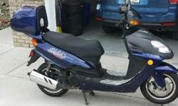 Great Scooter for the summer and fall. Great ride. Runs great and in good condition with only 4686 KM Need to sell please give me a call or send me an email. Lumby area