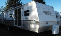 Price: $19,988 Stock Number: I2206 Large 2 bedroom trailer. Has sliding glass door, residential fridge, air conditioning and awning. We have competitive financing available. Price does not include documentation and taxes. We are always looking for used