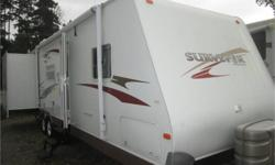Price: $14,900 30 foot, alum. framed double slide out , bunk trailer