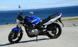 2007 Suzuki GS500 17,800 km Perfect beginner bike or for someone upgrading from a smaller bike or scooter. Has a minor dent in gas tank and a few scratches. Never been involved in an accident but was tipped from standing. I bought this bike last year, but