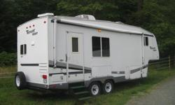 24.5' 2007 Terry Resort 5th wheel by Fleetwood, Extreme Edition. Was holding, but financing fell through, needs to go. Beautiful trailer, everything works perfectly, no leaks or water damage ever, one piece rubber roof like new, Awning has very slight