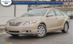 Make Toyota Model Camry Year 2007 Colour Gold kms 61093 Trans Automatic Price: $15,988 Stock Number: 15202A Interior Colour: Beige All our used vehicles at Westview Ford receive a full safety inspection and come with a free CarProof Report. Our locally