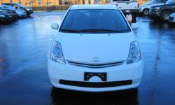 Make Toyota Model Prius Year 2007 Colour WHITE kms 180000 Trans Automatic 4 CYLINDER, AUTOMATIC TRANSMISSION, ONLY 180000KM, AIR CONDITIONING, REMOTE KEYLESS ENTRY, POWER STEERING, POWER BRAKES, DUAL AIR BAGS, POWER DOOR LOCKS, CRUISE CONTROL, CD PLAYER.