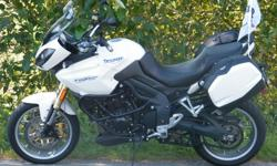 For Sale; 2007 TRIUMPH TIGER 1050 With 36k on it and i in perfect condition, Full service done including; Throttle bodies balance Download correct tune for TOR (triumph off-road pipe) Front forks service with new seals and Motul factory line fork fluid