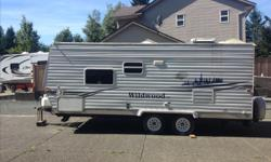 2007 wildwood LE Travel Trailer great shape hasn't been used this season still winterized from last season. No time to use it. make us an offer.