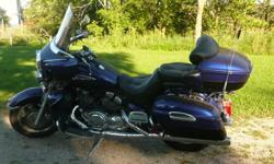 Nice Looking bike when all shined up,Too many things on the go,just no time to ride.Motivated seller would consider trade for older model Ford pick up truck and cash.PLEASE NO LOW BALL OFFERS not desperate.Thanks please respond by email.