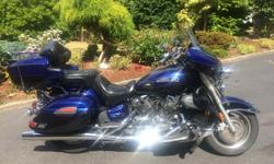 2007 Yamaha Royal Star Venture Excellent condition. 60.000 KM. 5 Speed transmission. Shaft drive, electronic cruise control, factory driving lights, factory 4 speaker stereo and CB radio, 2 windshields. hard saddle bags and luggage rack on the tour pack.