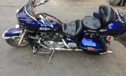 2007 YAMAHA ROYAL STAR VENTURE. Up for sale is our Yamaha Venture Asking $7900 60.000 KM. Shaft drive, cruise control, factory driving lights, 4 speaker stereo, CB radio, hard saddle bags and luggage rack on the tour pack. Including all 3 factory bag