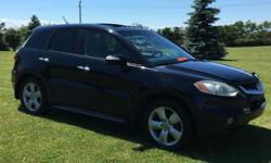 Make Acura Model RDX Year 2008 Colour black kms 180000 Awesome Acura RDX SH-AWD Turbo Tech Pkg, GPS , New trailer hitch , winter and all season tires , new break pads and rotors still in the box , 2 remote starters, premium sterio system with input jack,