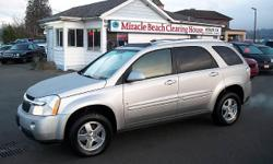 Year 2008 Colour Silver Trans Automatic kms 108938 This low KM 2008 Chevrolet Equinox LT1 AWD is ready to play in the city or in the snow for the affordable price of $11,288. Loaded with features that include AWD, keyless entry, A/C, alloy wheels, CD