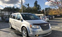 Make Chrysler Model Town And Country Year 2008 Colour Silver kms 148000 Trans Automatic WOW! Talk about options! This 2008 Chrysler Town & Country has it all! Check out what luxury looks like HERE at Colwood Car Mart! We finance! 2 Pay Stubs, You're