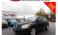 Trans Automatic 2008 Dodge Caliber SXT has alloy wheels, power mirrors/windows/locks, rear defrost, CD player and so much more! STK #859054 DEALER #31228 Need to finance? Not a problem. We finance anyone! Good credit, Bad credit, No credit. We handle car