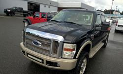 Make Ford Model F-350 Super Duty SRW Year 2008 Colour black kms 240700 Trans Automatic This 2008 Ford F-350 Super Duty is for sale on our lot in Campbell River and the PRICE has been reduced. This sought after diesel crew cab 4X4 pickup has 240500 kms.