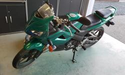Make Honda Model Cbr Year 2008 kms 11500 2008 Honda CBR125. Awesome bike to learn on. 11,500kms. Brand new chain, battery, front and rear tires from Honda. These have not been installed yet. Runs great. Super cheap on gas and to insure. $1,200. Can store