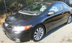 Make Honda Model Civic Cpe Year 2008 Colour BLACK kms 125000 Trans Automatic 2008 HONDA CIVIC 2DCPE 1.8, 4 cylinder auto trans, gas miser, has 125,000 k?s on it, good brakes good tires no leaks no noises very clean car, just had a wheel alignment done,