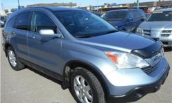 Make Honda Model CR-V Year 2008 Colour Blue kms 182000 Trans Automatic Price: $10,999 Stock Number: P1149 Interior Colour: Black Engine: 2.4L Inline4 Engine Configuration: Inline Cylinders: 4 Fuel: Regular Unleaded The Honda CR-V is the best-selling SUV