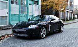 """Make Jaguar Model XKR Year 2008 Colour Indigo Metallic kms 68400 Trans Automatic Powerful 420 HP Jaguar XK-R in Indigo Metallic Dark Blue. Low mileage in excellent condition. With the 420 HP Supercharged engine, upgraded brakes, suspension and 20"""" wheels"""