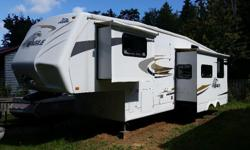 This 5th wheel is the bunkhouse model, perfect for families with kids. I have a 2003 F350 diesel crew cab pickup that I'm willing to sell for an additional $10,000 if you need a truck capable of hauling this trailer. I would consider a trade for a good