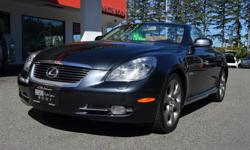 Make Lexus Colour Grey Trans Automatic kms 82734 Seasonal Price Reduction of $2,000! The 2008 Lexus SC 430 is a retractable hardtop roadster that gives you the perfect match of Comfort and Sport. Equipped with Navigation, Leather Seats, Alloys, Power