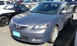 Make Mazda Model MAZDA3 Year 2008 Colour Grey kms 137302 Trans Manual Price: $6,995 Stock Number: 759735A Interior Colour: Black Engine: 2.0L 4 Cylinder Cylinders: 4 Fuel: Gas This ever popular Mazda3 is in great shape with a fantastic price Features