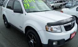Make Mazda Model Tribute SUV Year 2008 Colour White kms 53000 Trans Automatic Very low K's, fully loaded, heated leather seats, brand new alloy rims and tiers, runs and drives like new, local, one owner, rebuilt status, FREE warranty+.. REDUCED PRICE FROM