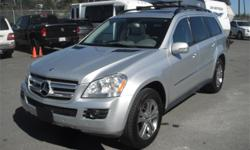 Make Mercedes-Benz Model GL450 Year 2008 Colour Silver kms 154718 Price: $15,800 Stock Number: BC0027785 Interior Colour: Grey Cylinders: 8 Fuel: Gasoline 2008 Mercedes-Benz GL 450 4Matic with 3rd Row Seating, 4.7L, 8 cylinder, 4 door, automatic, AWD,