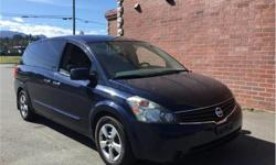 Make Nissan Model Quest Year 2008 Colour Blue kms 135950 Price: $4,995 Stock Number: M8-3651 Interior Colour: Grey Cylinders: 6 Fuel: Gasoline If this vehicle fits you're driving needs please give us a call for a test drive. We are the largest used