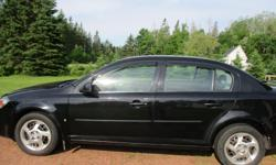 Make Pontiac Model G5 Year 2008 Colour black kms 253000 Trans Automatic 4 door power locks/windows/mirrors tilt wheel cruise control a/c blows cold am/fm cd split folding rear seat only been on island 2 years undercoated the 1st new windshield & wipers