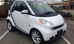 Make Smart Model FORTWO Year 2008 Colour White kms 125000 Trans Automatic 2008 SMART FORTWO Take one practical two-seat city car and rip off its top. What do you get? Well, we were expecting the automotive equivalent of cutoff jeans, something designed to