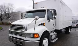 Make Sterling Year 2008 Colour White Trans Automatic kms 198360 Stock #: BC0030655 VIN: 2FZACGBS78AZ07723 2008 Sterling Acterra 22 Foot Cube Van Diesel with Mobile Shredding and Air Brakes, Cummins 8.3L, RWD, Allison transmission, automatic, am/fm radio,