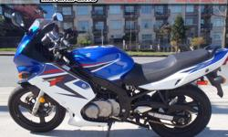2008 Suzuki GS 500F Sport Bike * REDUCED PRICE !! * $3499. Local bike, one owner, has some scuffs and scratches typical for it's age. Completely serviced and is ready to ride. Great for commuters and veteran riders alike. Colour: Blue Buy with confidence