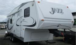 Price: $14,995 Stock Number: RCX3192 This Jazz 2550 with dinette & fridge slide is ready for a new home, Light weight! All the necessities while you are away from home! The spacious floor plan features a large dinette slide that gives you space to move