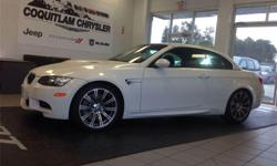 Make BMW Model M3 Year 2009 Colour White kms 63000 Trans Automatic Comments: No Accidents, Very low KMS, Loaded, Leather interior, Alloy Wheels, Power Everything and much more! The M3 is a legend in the world of performance cars, giving enthusiasts reason