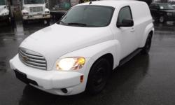 Make Chevrolet Model HHR Year 2009 Colour White kms 144801 Trans Automatic Stock #: BC0030779 VIN: 3GCCA85B29S597483 2009 Chevrolet HHR LS Panel, 2.2L, automatic, FWD, 4-Wheel ABS, bulkhead partition, cruise control, air conditioning, AM/FM radio, CD