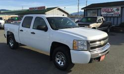 Make Chevrolet Model Silverado 1500 Year 2009 Colour White kms 154000 Trans Automatic 2009 Chevrolet Silverado 1500 LT Crew Cab 4X4 5.3L V8 with Automatic Transmission Power Windows, Locks, Cruise Control, Tilt Steering and Air-Conditioning 66 Point