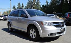 Make Dodge Model Journey Year 2009 Colour Silver kms 97160 Trans Automatic Local BC Vehicle with Only 97,000 Km's, WOW! This one is a Steal! Fully Serviced & Safety Inspected, Options include: Powergroup, AC/Heat, Bluetooth, Aux Input, Alloys and more.