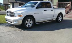 Make Dodge Model Ram 1500 Club Colour White Trans Automatic 2009 Dodge Ram 1500 Quad Cab 4X4 SLT,5.7 HEMI-VTC/MDS Engine with a 5 Speed AUTO Center Consul Shift and the 545/RFE Trans,197K Mostly All Highway Kms, New Hankook Pike RW11- P275/60/r20 on newer