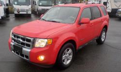Make Ford Model Escape Hybrid Year 2009 Colour Red kms 106676 Trans Automatic Stock #: BC0030572 VIN: 1FMCU59339KB18357 2009 Ford Escape Hybrid 4WD, 2.5L, 4 cylinder, 4 door, automatic, 4WD, 4-Wheel ABS, cruise control, air conditioning, AM/FM radio, CD