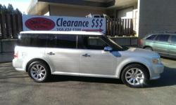 Make Ford Model Flex Year 2009 Colour Silver Metallic kms 110223 Trans Automatic 2009 Ford Flex Ltd, top of the line model including leather, heated seats, rear entertainment system, sunroof and panorama roof in rear, alloys, tinted glass, fun for the
