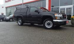 Make GMC Model Canyon Year 2009 Colour Black kms 46880 Trans Manual Price: $14,000 Stock Number: 7330Q Fuel: Gasoline This 2009 gmc canyon sle is in near perfect condition with super low kms! Equipped with a colour keyed canopy and yakima roof rack it is